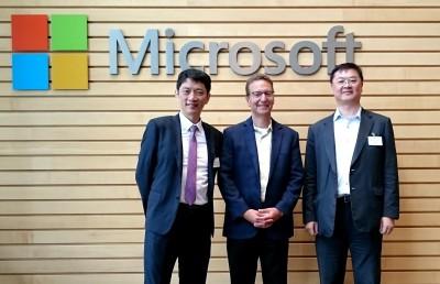工研院與微軟攜手 開拓AI晶片應用商機