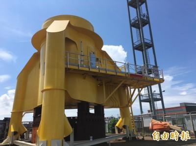 離岸風電在地化新里程碑!首座台製水下基礎轉接段試製成功