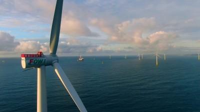台首個離岸風場開始發電!  海洋風電第二階段首支風機正式試運轉