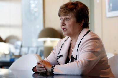 世界銀行執行長喬治艾娃 篤定接掌下屆IMF總裁