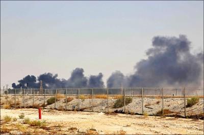 沙國油廠遇襲 分析師:油價可能重回100美元夢魘