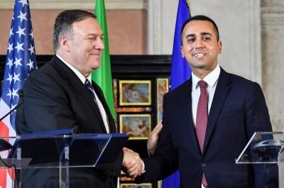 美國務卿訪義大利 籲提防中國貿易掠奪性作為