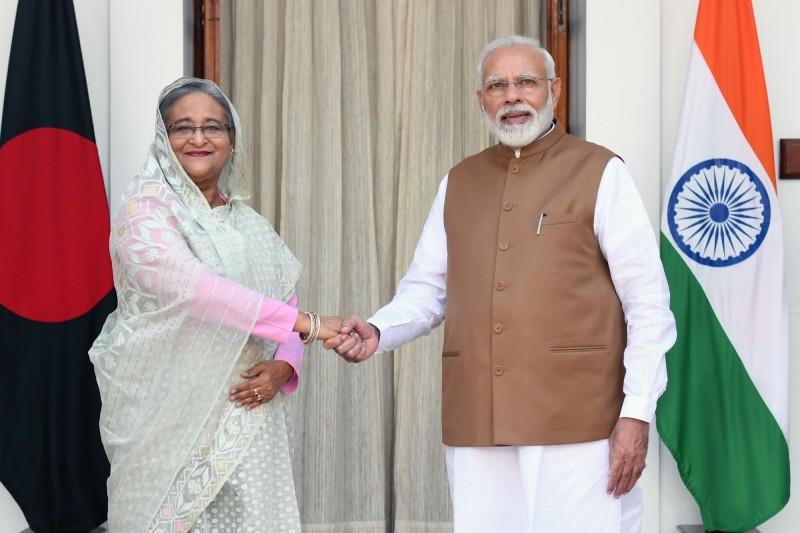 抗衡中國一帶一路 印度與孟加拉簽署7協定