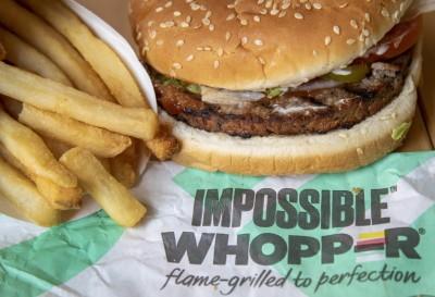 「不可能華堡」夠夯 漢堡王全美客流成長贏麥當勞