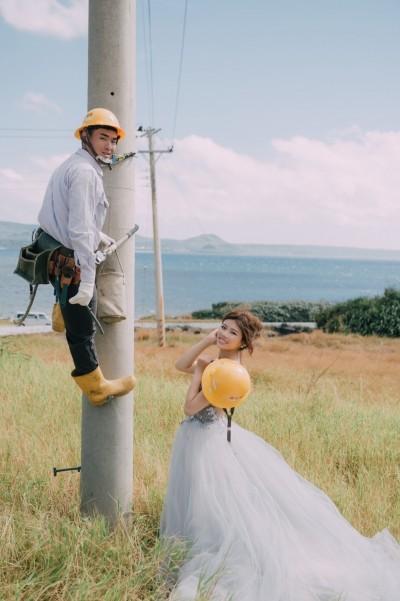 幸福企業造佳偶! 台電、中鋼今都辦聯合婚禮