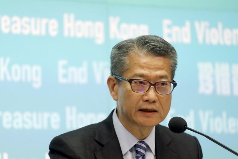 反送中效應 香港財政司長:今年經濟恐負增長