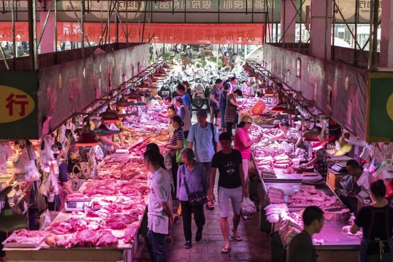 中國豬肉飆漲逾100% 物價指數創近8年新高