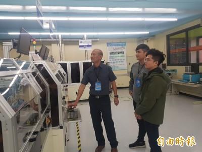 校園首座,教育部補助明新科大半導體產業示範工廠啟用