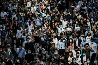 10年來首見!香港預測今年GDP萎縮1.3%
