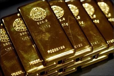 市場避險情緒降溫 黃金本週下跌0.3%