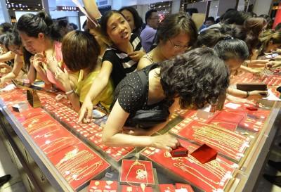 爆買潮已過  專家:中國消費疲軟恐讓金價難有漲勢