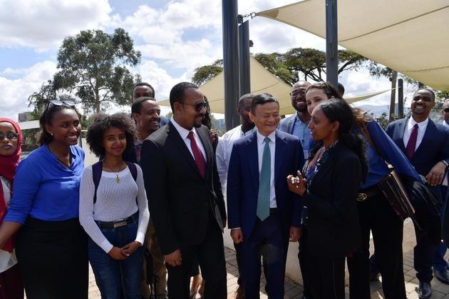 阿里巴巴eWTP與衣索比亞簽約   馬雲再投1億美元培養企業人才