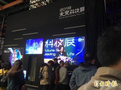 台灣衛星商機起飛! 蔡英文:下個十年每年發射一顆衛星