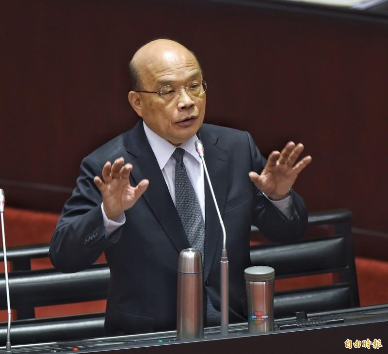 大爆發!蘇貞昌:投資台灣3大方案破8300億