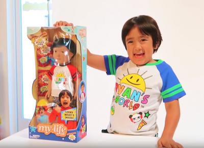 富比世最會賺錢YouTuber!8歲男童年撈7.8億蟬聯冠軍