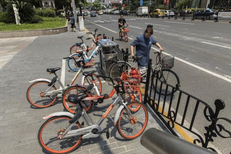 中國共享單車曝數據 一年超過20萬台遭破壞、偷竊
