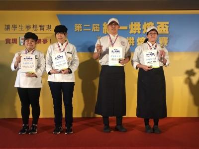 統一烘焙盃校際烘焙大賽  2作品拿下「評審團大獎」