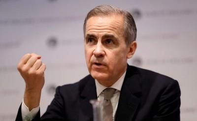 若全球經濟再惡化 英央行行長:各國央行恐無彈藥應對