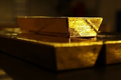 市場避險情緒清淡 黃金下跌近10美元
