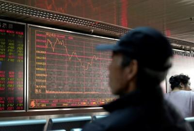 武漢肺炎疫情拖累!中國股市下跌、港股重挫逾700點
