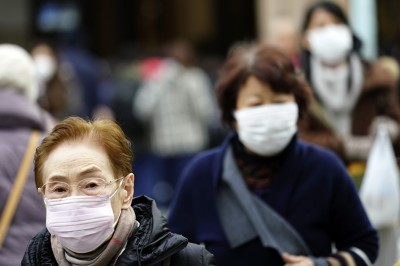 武漢肺炎》日企口罩出貨量直接翻倍 春節銷售恐續增