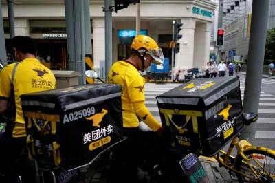 武漢肺炎》中國外賣平台下架野味產品、發口罩給疫區外送員
