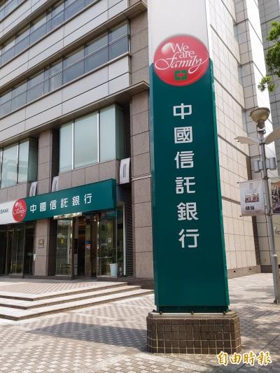 《武漢肺炎》中國信託:客戶若家人遭「確診」  開放申請「家庭急難救助貸款」