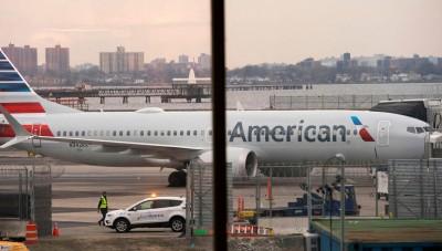 武漢肺炎》美國航空:延長停飛中國及香港航班至4月下旬