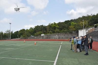 「智慧農業無人機種子飛手培訓班」搶手   華梵首開班即滿招