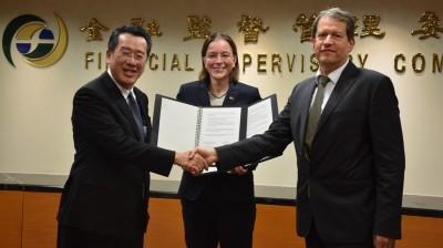 強化台德關係!金管會與德官方簽銀行、保險跨境監理合作