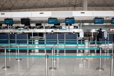 日韓疫情加溫 香港國泰航空再關閉4航點 總運力降4成