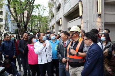 侯友宜視察大陳社區都更案 豪宅造型成永和新地標
