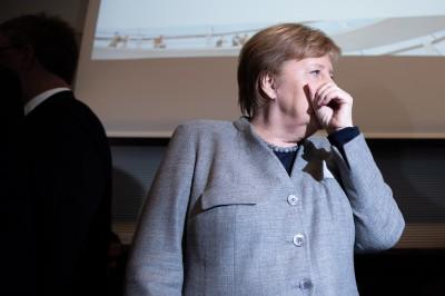 梅克爾估計:高達7成德國人恐感染武漢肺炎