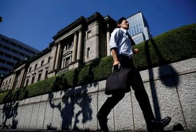 日本央行今釋逾9千億現金 為金融危機來最大量