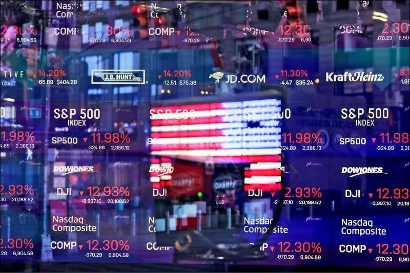 川普鬆口衰退 美股收驚反彈