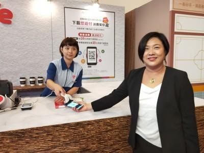 悠遊卡加入電支戰局!悠遊付今開通 首波8銀行支援
