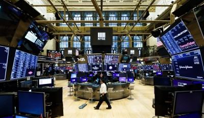 Fed無限QE還是沒用!美股道指週1開盤跌逾500點
