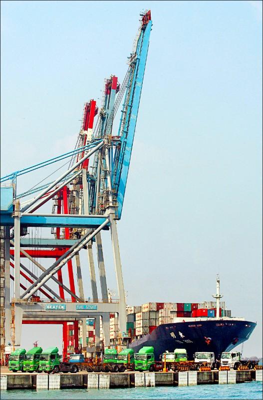 3月出口年減0.6% 4月衝擊更大
