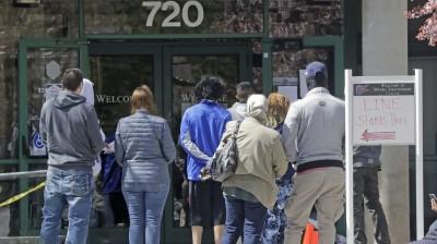 等待失業數據  道瓊期指漲逾百點