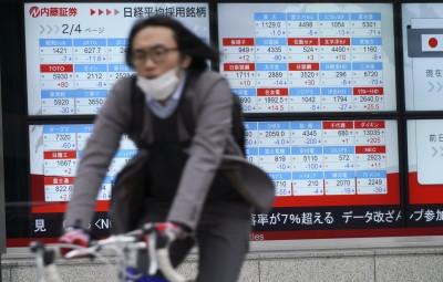 美4大指數齊黑 日韓股開低跌逾1%