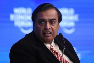 印度富豪安巴尼超越馬雲 重奪亞洲首富寶座