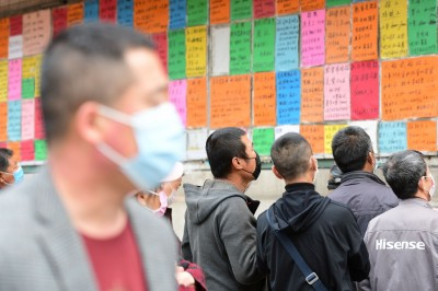 武漢肺炎》中國真實失業率  中泰證券:含民工達20%