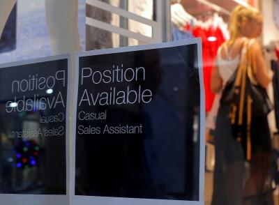 澳洲4月招聘廣告量暴減逾50% 創歷年來最大降幅