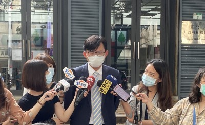 接受大同獨董提名後首露面  黃國昌:「就事論事不當花瓶」