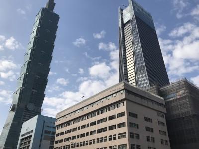 台北101大樓39樓租單價近4150元  為歷次揭露第4高