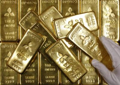 疫情憂慮降溫 黃金跌逾22美元