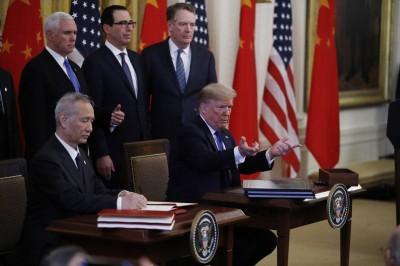 智庫CSIS:今年中對美採購量恐僅及首階貿易協議的3分之1