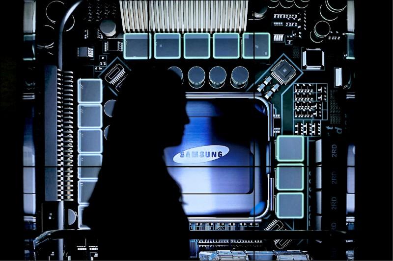 三星5奈米 緊追台積 第6座晶圓廠動工