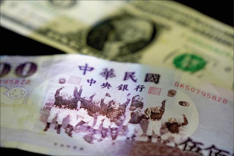 台幣實質有效匯率 連3月超越韓元