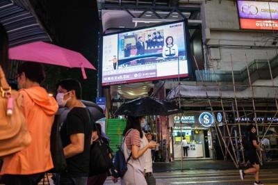 中國推港版國安法!香港恆生指數暴跌逾1100點